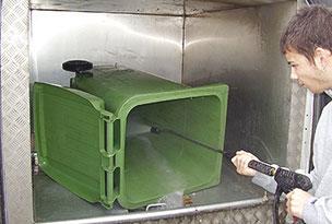 Wheelie Bin Cleaning