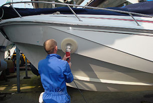 Boat hull cleaning